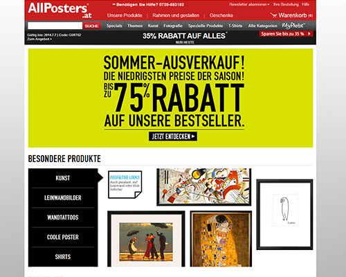 AllPosters.at